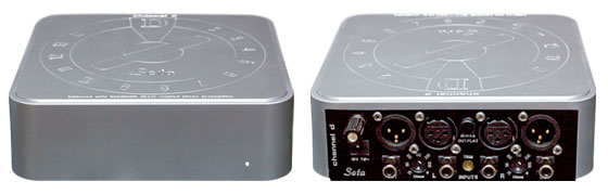 "Seta Nano - Fully Balanced, Wide Bandwidth 3 MHz ""Flat"" + RIAA Phono Preamplifier with Monolithic, Low Noise Front-End; for Low Output Moving Coil Cartridges; Low Noise DC Power Supply"
